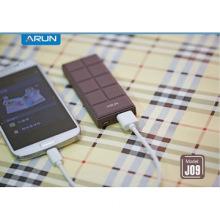 unique chocolate stylish li-polymer battery power bank