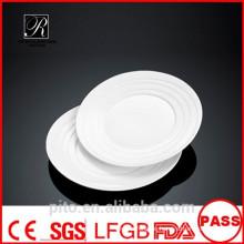 P & T Porzellan Fabrik Porzellan Runde Teller, Tischplatten, Dessertteller