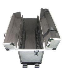 Caja de herramientas de viaje duro Caja de herramientas de aluminio Caja de almacenamiento