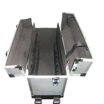 Boîtier d'outil de voyage dur Boîtes de rangement en aluminium boîte à outils