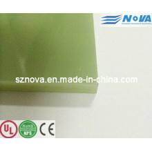 Laminado de fibra de vidro epoxi Fr4 / Epgc201 / Epgc202