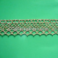 Crochet Lace Made in Gloden Thread