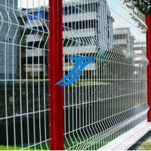 Welded Mesh Fence/ PVC Coated Curvy Fence