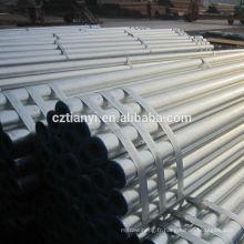 Tuyau en acier inoxydable galvanisé le plus vendu