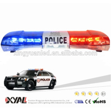 12V 24V Alta potencia 76W LED Luz de advertencia de emergencia de color ámbar Parpadeante Lightbar