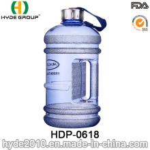 2016 jarro de agua plástico nuevamente modificado para requisitos particulares 2.2L, botella de agua plástica grande de PETG (HDP-0618)