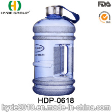 Récipient d'eau en plastique de 2016 nouvellement adapté par 2.2L, grande bouteille d'eau en plastique de PETG (HDP-0618)