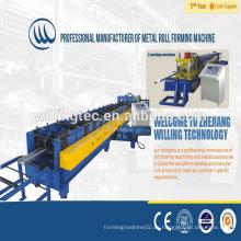 CE vollautomatische c oder z purlin Rollenformmaschine / Stahlpfetten Preise / Pfettenmaschinenhersteller
