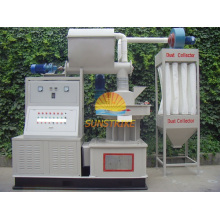 Máquina de pellets de madera de aserrín 1t / h con matriz de anillo vertical (MXKJ - 9S - 1)