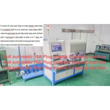 Full Automatic Plug Insertion Machine for 16 Amp Plastic Part With Brass Insert