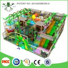 Kundenspezifische bunte lustige Indoor Naughty Castle Kinder Spielplatz zum Verkauf