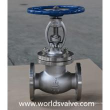 Válvula de globo clase150 con engranaje de gusano