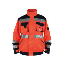 Protective Safety Work Clothes Hi Vis Workwear Jacket