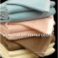 100% coton en gros prix usine couverture en plaine