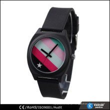 promotion 2015 new silicone quartz watch blank