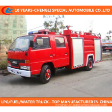 2cbm 3cbm 4X2 Euro 3 Fire Fighting Truck
