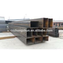 Ms tubes carrés tubes rectangulaires ASTM A500-GrB / Q235 / SS400 / SS490