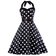 Grace Karin Frauen Kleidung 2017 Retro Swing Kleid Pin up Plaid Robe Vintage 60er 50er Rockabilly Kleid Sommerkleid CL010496-2