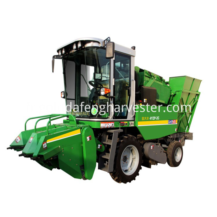 2 Rows Corn Harvester