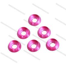 M3x7x2.5mm rondelle conique en aluminium vis écrou rondelle