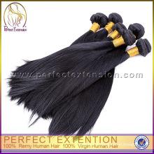 3 штук 14-дюймовый 100% необработанных девственных Реми прямо Перу волосы
