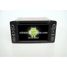 Quad core!car dvd with mirror link/DVR/TPMS/OBD2 for 6.2 inch touch screen quad core 4.4 Android system Mitsubishi outlander