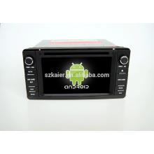 Четырехъядерный!автомобильный DVD с зеркальная связь/видеорегистратор/ТМЗ/obd2 для 6.2 дюймов сенсорный экран четырехъядерный процессор андроид 4.4 системы Мицубиси Аутлендер