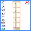 JHK- Wood Framed Glass Panel Doors Folding
