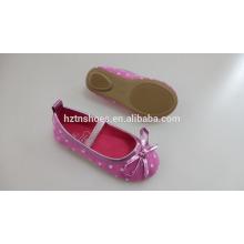 2016 Весенние девушки Симпатичные плоские туфли