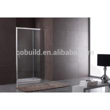 K-561 pantalla de ducha de puerta de ducha de vidrio templado rectangular