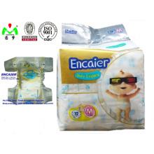 2016 Nouvelle vente chaude de couches pour bébés de Quanzhou Baby Diaper Manufacturer