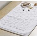 Canasin 5 Sterne Hotel Luxus Jacquard Badematte aus 100 % Baumwolle