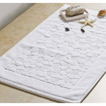 Canasin 5 Star Hotel Luxury Jacquard Bath Mat 100% cotton