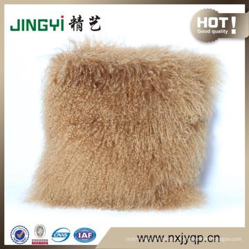 Gros tibétain mongol agneau fourrure siège de voiture housse de coussin