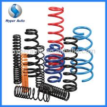oem coilover spring steel coil for car suspension