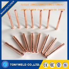 La torche tig collecte 10N22 / 10N25 / 10N24 pour le commutateur de soudage pour la torche tig