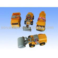 Caminhão de brinquedo de construção de roda livre