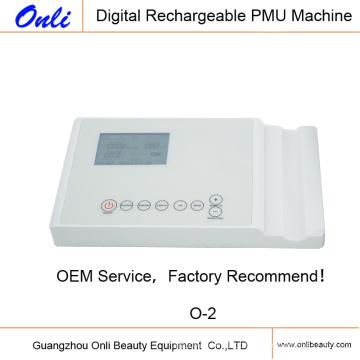 Onli Inteligente Digital recarregável Micropigmentation dispositivo O-2 máquina de tatuagem
