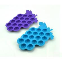 Funny Fruit Shape - Bandejas de cubitos de hielo de silicio reutilizables