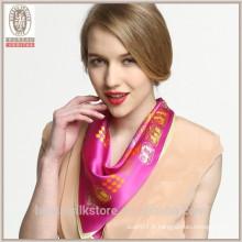 Foulards en soie à la mode en vietnam Écharpe en soie Écharpes en soie en gros