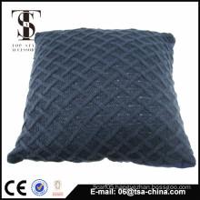 2015 Cotton Blue Chevron Striped Accent Decorative Throw Pillow Cover Fashion Cushioning Popular