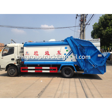 Dongfeng 6CBM Hydraulic Garbage Compactor Truck
