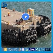 Garde-boue en caoutchouc de type flottant 4.5m * 9m