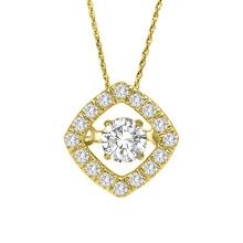 925 bijoux pendentifs en diamant en dancing argenté en gros