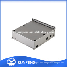 Stanzen Elektrisches Blechgehäuse, wasserdichtes Aluminiumgehäuse