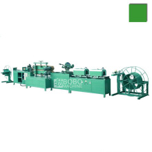 Automatic nature gas corrugated pipe welding making machine