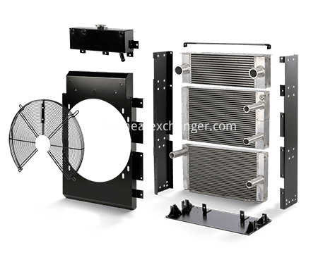 Aluminum Plate&Bar Heat Exchanger