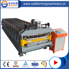 Automatic Galvanized Double Metal Roof Plate Machine