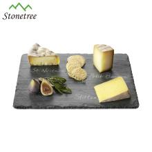 Venda quente por atacado de ardósia tábua de queijos tábua de queijar