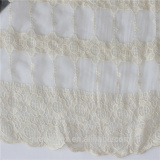 Hot Milk Silk lace design fabrics/bridal french lace fabric